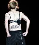 Madonna's OBAMA tattoo at Yankee Stadium Concert