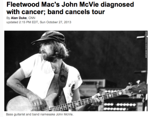 John McVie - Best Wishes to Beat Cancer